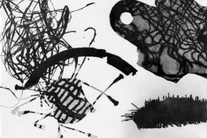 Photograph of a photogram to suggest microscopic life 1949 Nigel Henderson 1917-1985 The papers were acquired by the Tate Archive from Janet Henderson and the Henderson family in 1992.  http://www.tate.org.uk/art/archive/TGA-9211-10-2-1