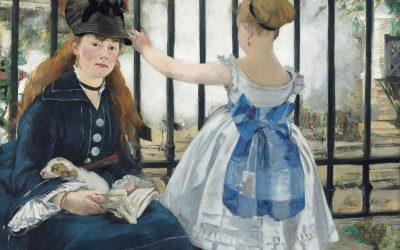 Edouard Manet (French, 1832 - 1883 ), The Railway, 1873, oil on canvas, Gift of Horace Havemeyer in memory of his mother, Louisine W. Havemeyer